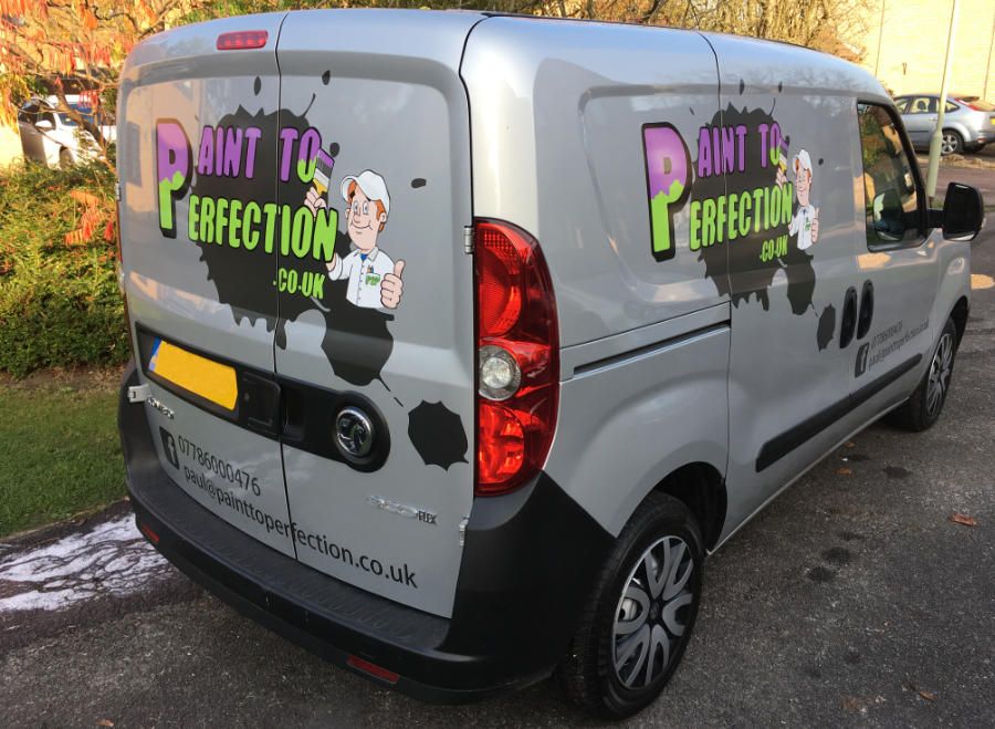 The Paint To Perfection van
